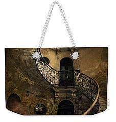 Forgotten Staircase Weekender Tote Bag by Jaroslaw Blaminsky