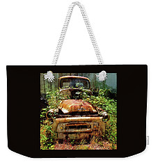 Weekender Tote Bag featuring the photograph Forgotten by Thom Zehrfeld