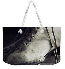 Weekender Tote Bag featuring the photograph Forgotten Winter by Amy Weiss