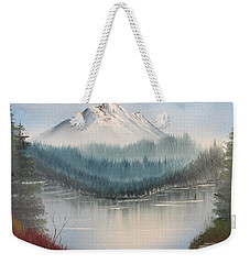 Fork In The River Weekender Tote Bag