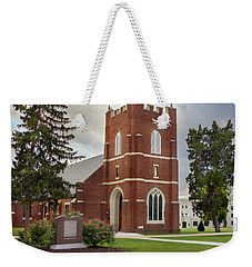 Fork Union Military Academy Wicker Chapel Sized For Blanket Weekender Tote Bag