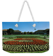 Formal Garden At The University Campus Weekender Tote Bag