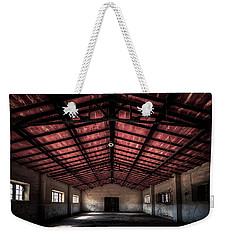Weekender Tote Bag featuring the photograph Former Cannery - Ex Conservificio II by Enrico Pelos