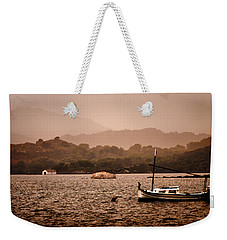Fornells Bay In Menorca Island - Even Most Beautiful Places Have Secrets To Hide By Pedro Cardona Weekender Tote Bag