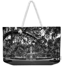 Forsyth Park Fountain 2 Savannah Georgia Art Weekender Tote Bag by Reid Callaway