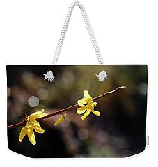 Forsythia Flowers Weekender Tote Bag