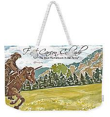 Best Hometown In The Army Weekender Tote Bag