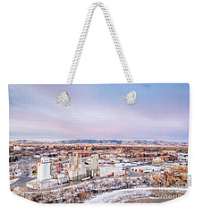 Fort Collins Aeiral Cityscape Weekender Tote Bag