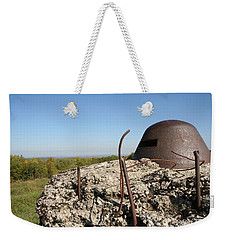 Weekender Tote Bag featuring the photograph Fort De Douaumont - Verdun by Travel Pics