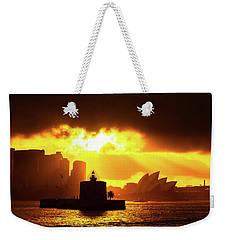 Fort Denison Weekender Tote Bag by Petar Belobrajdic