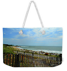 Fort Fisher Beach Weekender Tote Bag