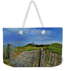 Fort Fisher Fence Weekender Tote Bag