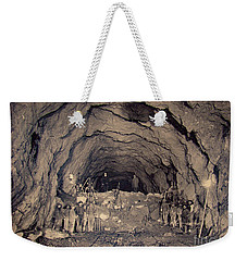 Fort George Tunnel, 1904 Weekender Tote Bag