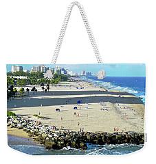 Fort Lauderdale Beach Park Weekender Tote Bag by Kirsten Giving