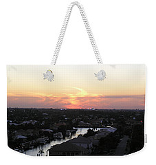 Weekender Tote Bag featuring the photograph Fort Lauderdale Sunset by Patricia Piffath