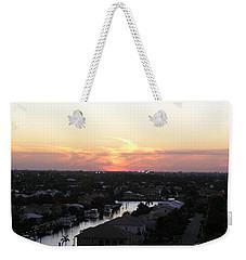 Fort Lauderdale Sunset Weekender Tote Bag