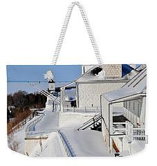 Fort Mackinac Profile Weekender Tote Bag