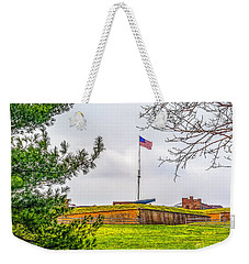 Weekender Tote Bag featuring the photograph Fort Mchenry National Monument  by Nick Zelinsky