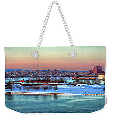 Fort Mchenry Shrouded In Snow Weekender Tote Bag