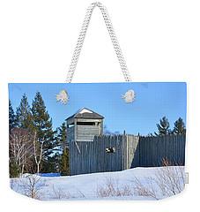 Fort Michilimackinac Northeast Blockhouse Weekender Tote Bag