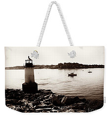 Fort Pickering Lighthouse, Winter Island, Salem, Massachusetts Weekender Tote Bag