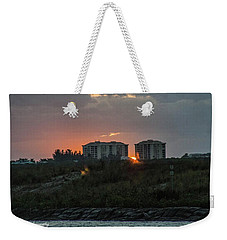 Fort Pierce Sunrise Weekender Tote Bag