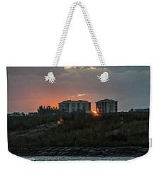 Fort Pierce Sunrise Weekender Tote Bag