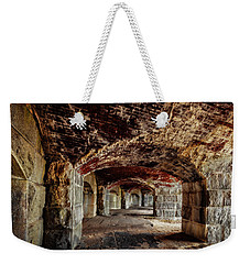Fort Popham Weekender Tote Bag