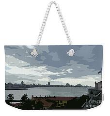 Fort River City Art Weekender Tote Bag