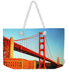 Fort Ross At The Golden Gate Weekender Tote Bag