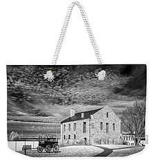 Weekender Tote Bag featuring the photograph Fort Smith Historic Site by James Barber