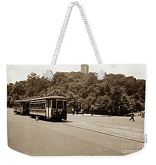 Fort Tryon Trolley Weekender Tote Bag by Cole Thompson