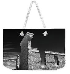 Fort Union Ruins Weekender Tote Bag by James Barber