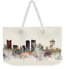 Fort Worth Texas Skyline Weekender Tote Bag