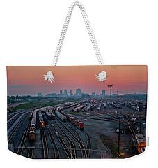 Fort Worth Trainyards Weekender Tote Bag