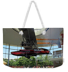 Weekender Tote Bag featuring the photograph Fortaleza Hall, Spirit Of Carnauba by Mark Czerniec