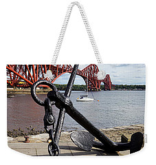 Weekender Tote Bag featuring the photograph Forth Bridge by Jeremy Lavender Photography