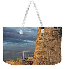 Weekender Tote Bag featuring the photograph Fortress Havana by PJ Boylan