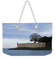 Fortress Wall Weekender Tote Bag by Lois Lepisto