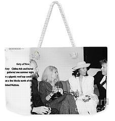 Forty Weekender Tote Bag