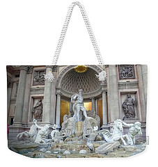 Forum Shops Statues At Ceasars Palace Weekender Tote Bag