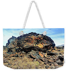 Fossil Falls Weekender Tote Bag