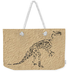 Fossils Of A Dinosaur Weekender Tote Bag