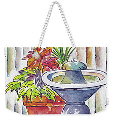 Fountain And Friends Weekender Tote Bag