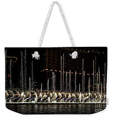 Fountain At Bellagio 5 Weekender Tote Bag
