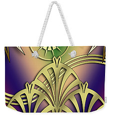 Fountain Design 4 - Chuck Staley Weekender Tote Bag by Chuck Staley
