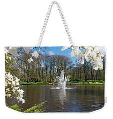 Fountain In Park Weekender Tote Bag