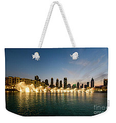 Fountains At Dusk 1 Weekender Tote Bag