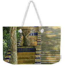 Fountains At Montjuic Weekender Tote Bag