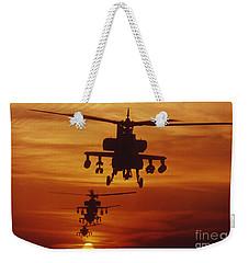 Four Ah-64 Apache Anti-armor Weekender Tote Bag